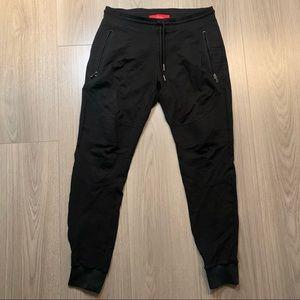 Men's sweat pants black